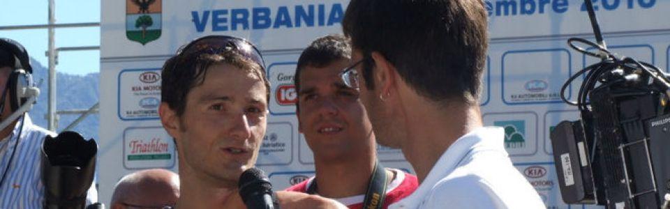 Speaker ai campionati italiani di Triathlon olimpico